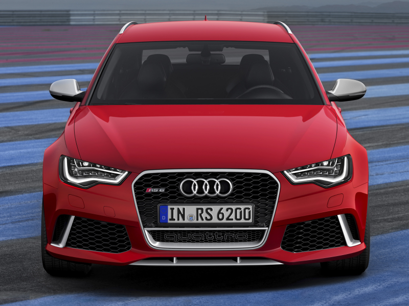 2013 Audi RS6 Avant gets unexpected unveiling