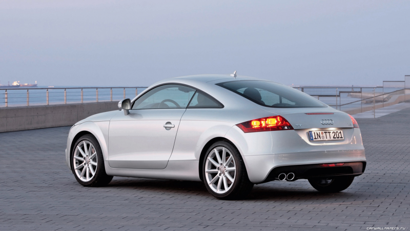 Car wallpapers Audi TT Coupe - 2010
