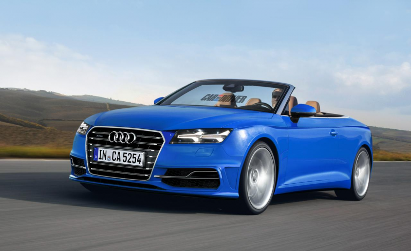 2016 Audi A5 cabriolet (artist's rendering)