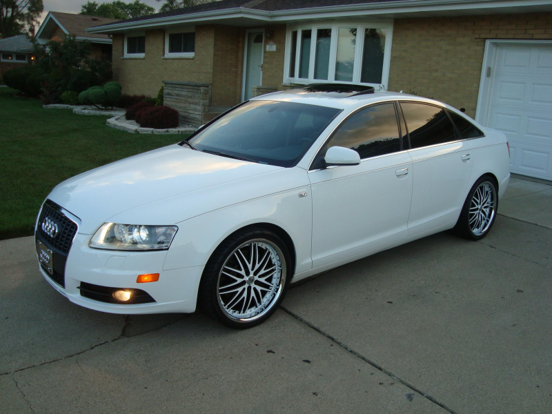 Another gold24ksolid 2008 Audi A6 post...