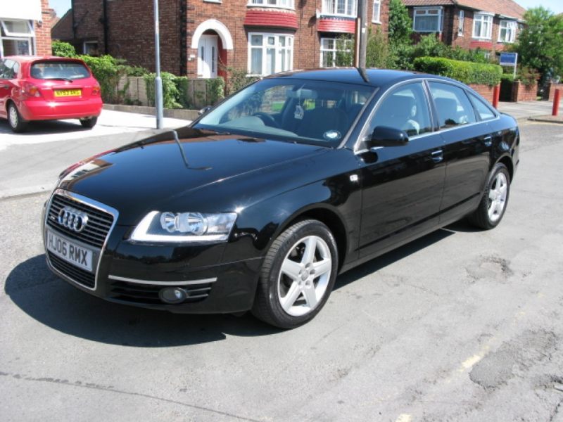 Audi A6 2006 Black AGumLPps Wallpaper