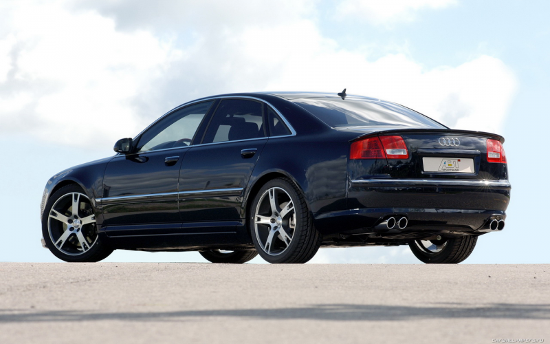 Car tuning wallpapers ABT Audi A8 - 2006