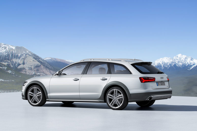 2016 Audi A6 Allroad Quattro European Spec Side