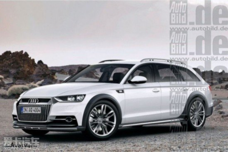 The new Audi A4 allroad renderings or 2016 debut