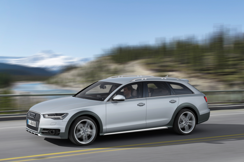 2016 Audi A6 Allroad Quattro European Spec Side In Motion