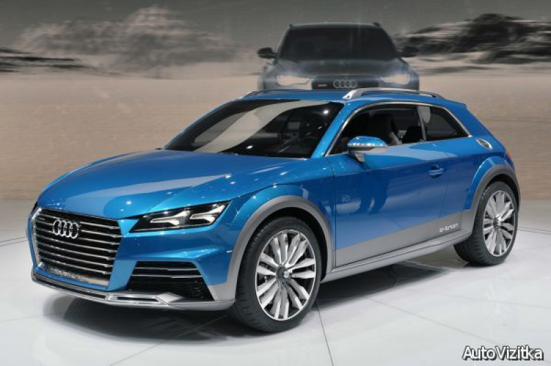 2015 Audi Allroad Shooting Brake Concept 2016