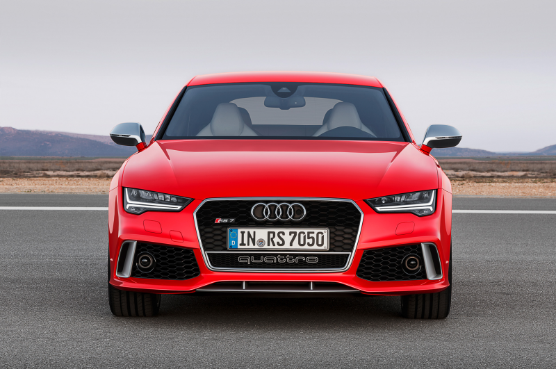 2016 Audi Rs 7 Front View Straight On