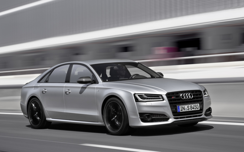 The Audi S8 Plus Belts Out 605 Horsepower