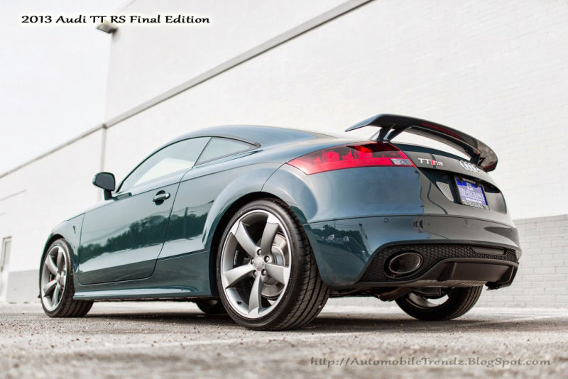 2013 Audi TT RS Final Edition (19 Pictures)