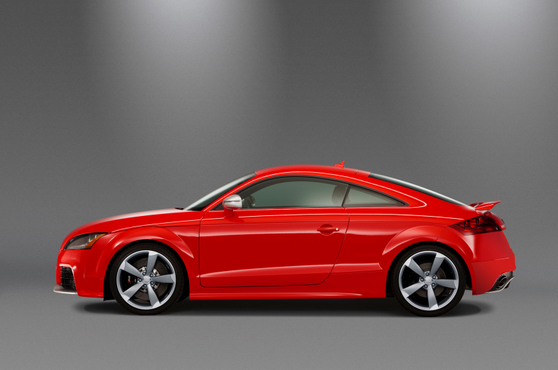 2013 Audi Tt Rs Coupe Side Profile