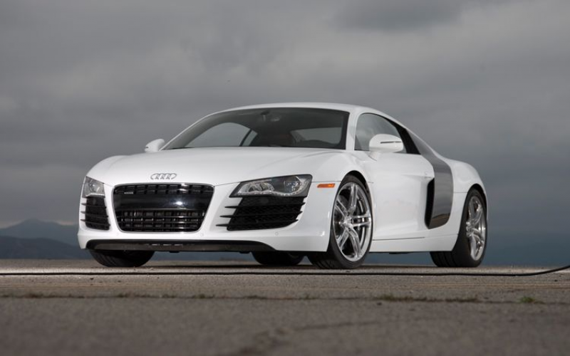 2009 Audi R8 Front View