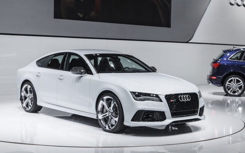 2014 Audi RS7 Displayed at The Detroit Auto Show