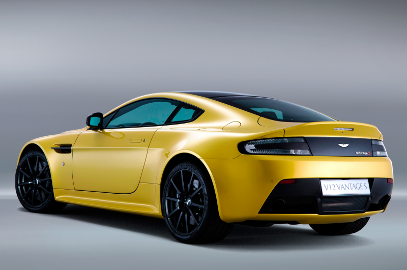 2015 Aston Martin V12 Vantage S Rear Three Quarters View