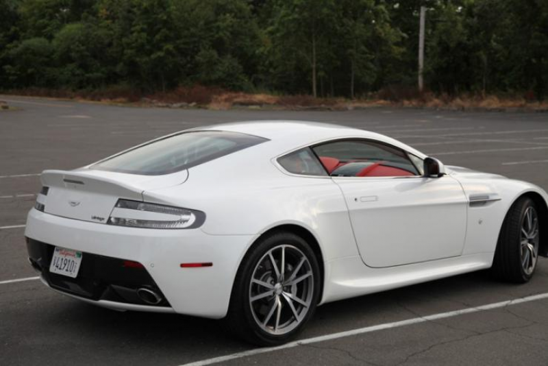 Aston Martin V8 Vantage Review: A Road-Going Fighter Jet in a Tux
