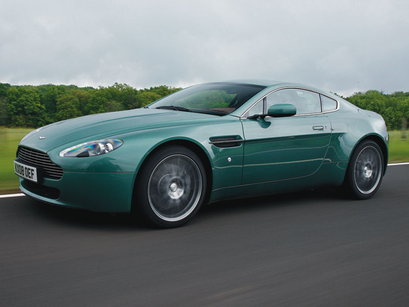 The V8 Vantage is available both Coupe and Roadster convertible forms.