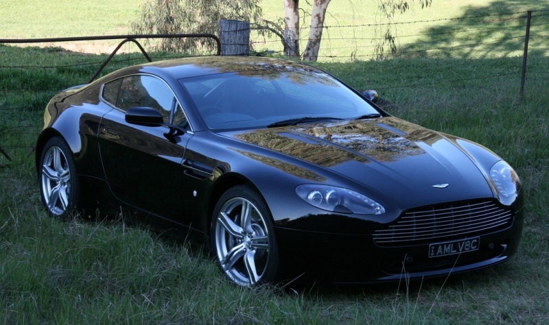 Aston Martin Vantage V8 2006. ALL NEW 2006 ASTON MARTIN V8