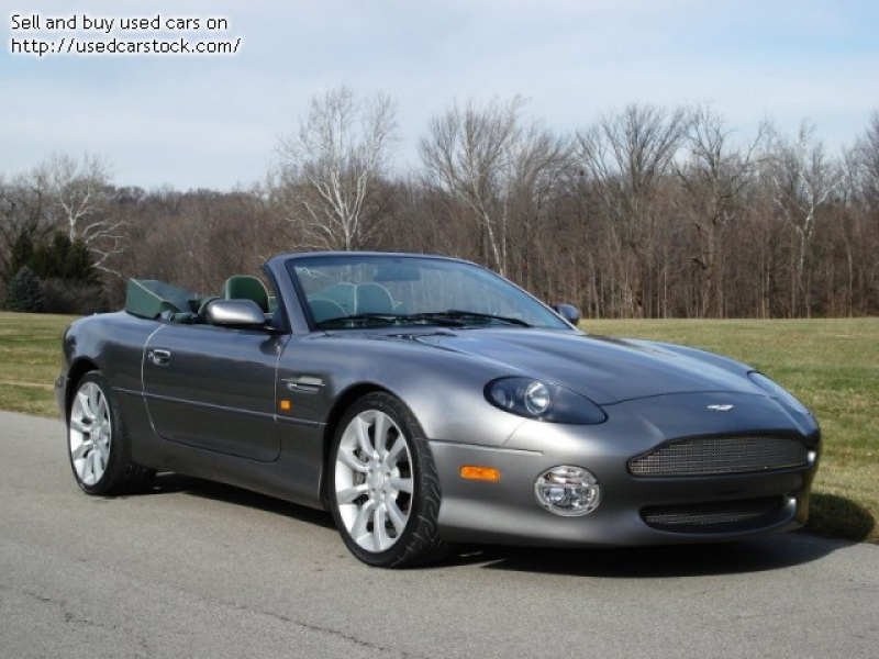 Pictures of 2002 Aston Martin DB7 Vantage Volante - $43,900: