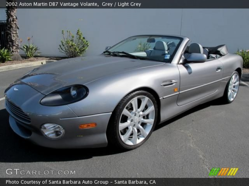 2002 Aston Martin DB7 Vantage Volante in Beige. Click to see large ...