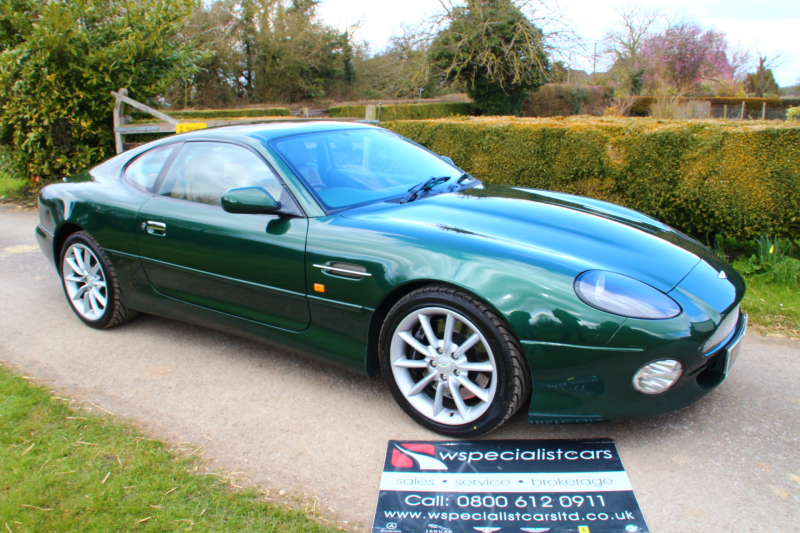 2001 ASTON MARTIN DB7 VANTAGE AUTO WITH FULL ASTON MARTIN HISTORY