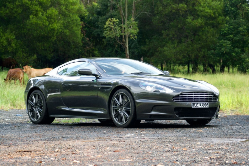 2009 Aston Martin DBS – driven by Kevin Bartlett - Photos (1 of 90)