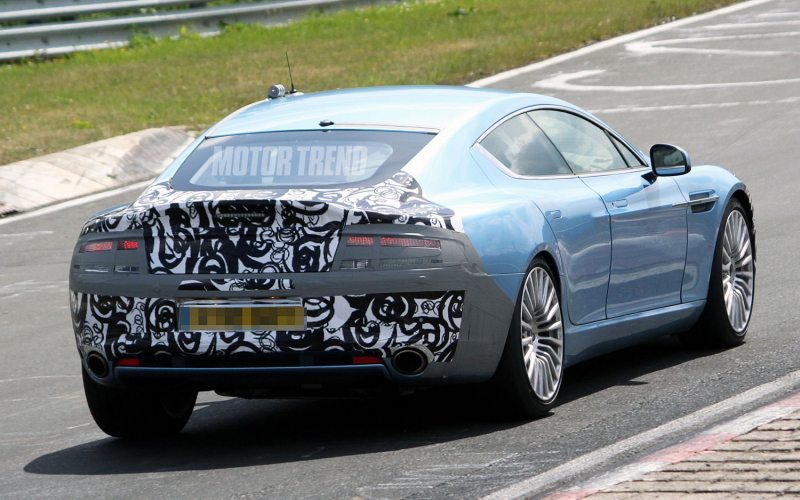 Spied! Aston Martin Rapide S Makes Appearance on the 'Ring Photo ...
