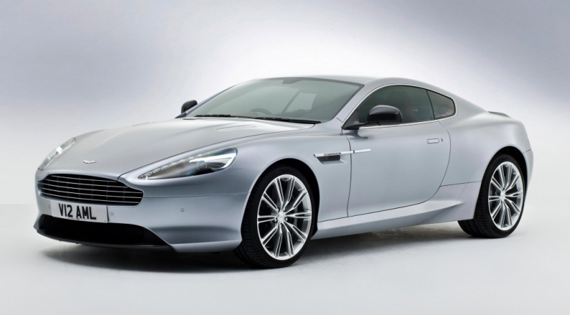 2013 Aston Martin DB9: More Power, New Look