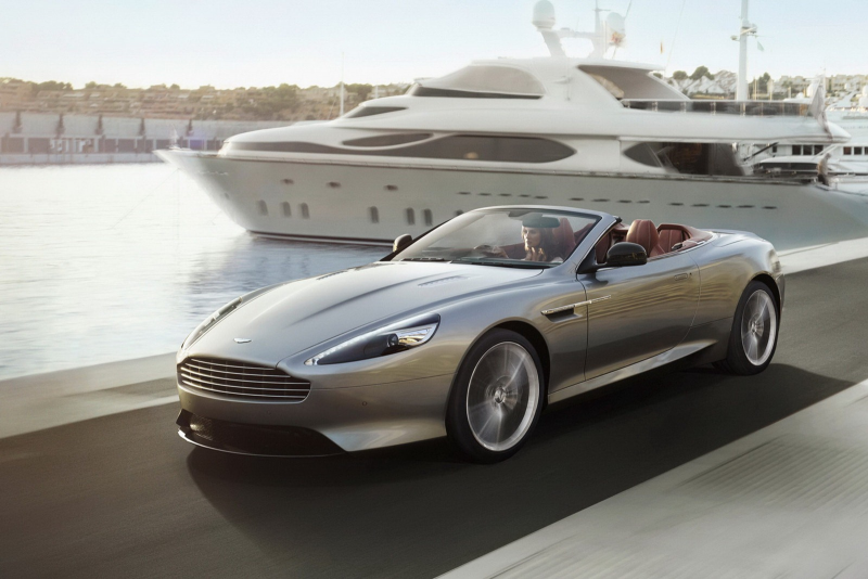 Updated 2013 Aston Martin DB9 Pictures and Details