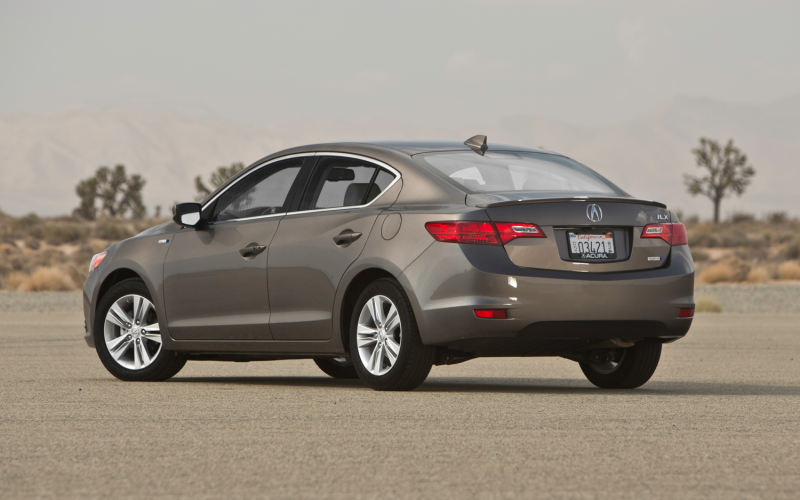2013 Acura Ilx Hybrid Rear Three Quarters