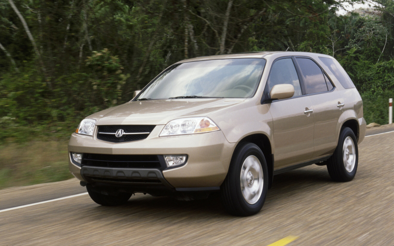 2001 Acura Mdx Front Three Quarters