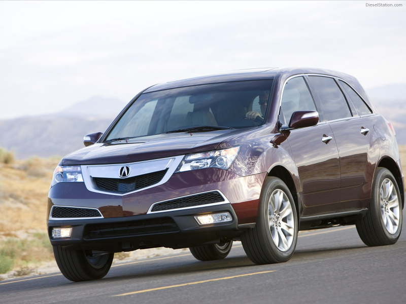Home > Acura > Acura MDX snow 2011