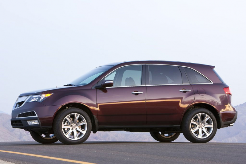 2011 Acura MDX Chapagne Side Profile 480