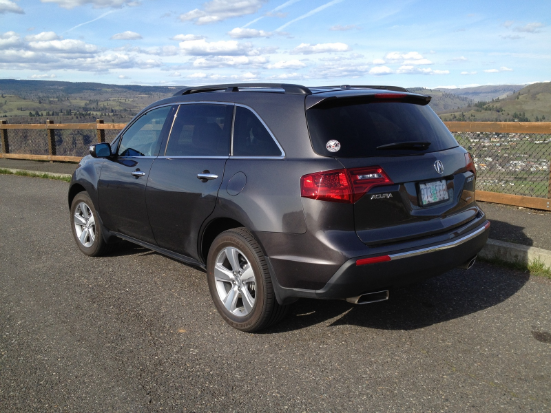 picture of 2011 acura mdx base exterior