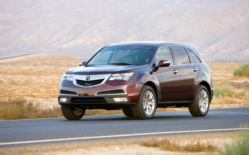 2012 Acura Mdx Front Three Quarter Static