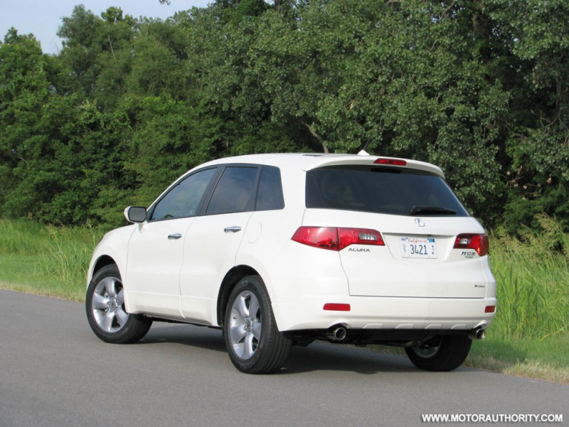 2008 acura rdx review motorauthority 001