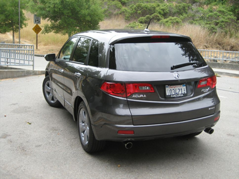 2008 Acura Rdx Rear Three Quarter View