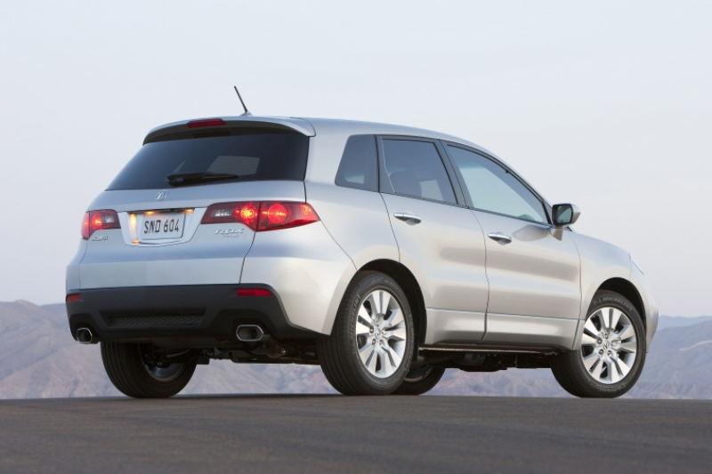 Featured above is an image of the 2012 Acura RDX painted in Palladium ...