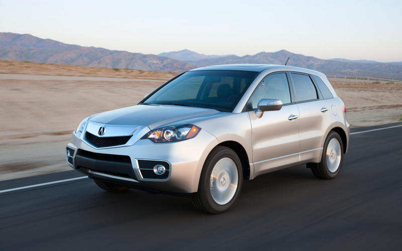 2012 Acura Rdx Front Three Quarter In Motion