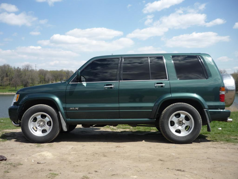 mid-size premium SUV, the 1999 Acura SLX seats five passengers and ...