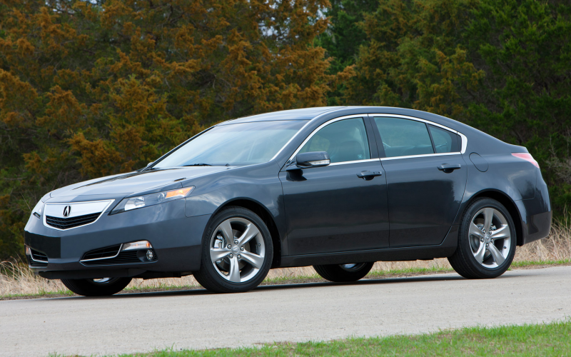 2013 Acura Tl Sh Awd Front Side View