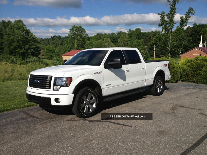 2012 Ford F 150 Fx4 Ecoboost White Crew Cab 20 Inch Wheels F-150 photo ...