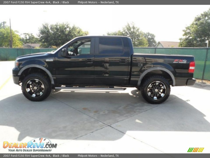 Custom Wheels of 2007 Ford F150 FX4 SuperCrew 4x4 Photo #6