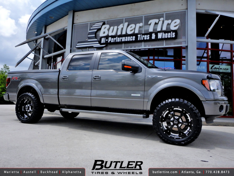 Ford F-150 FX4 with 22in BMF Novakane Wheels and 4in Rough Country ...