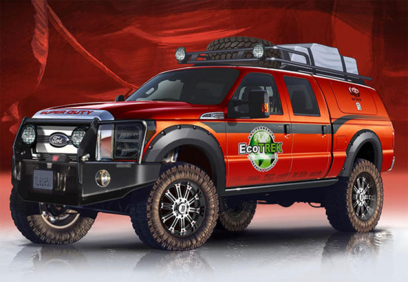 03 ford f150 f250 and f350 at 2013 sema home news ford ford f150 f250 ...