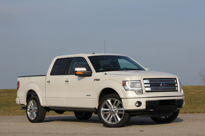 2013 Ford F-150 Limited: Quick Spin Photos