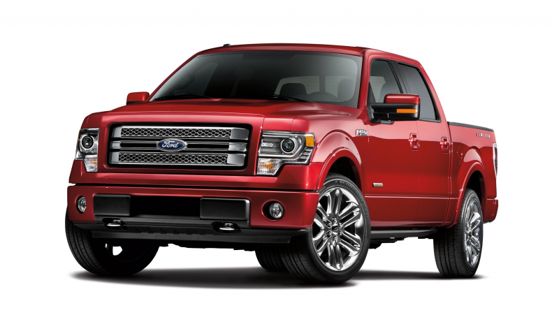 2013 Ford F-150 Limited adds luxury to the pickup