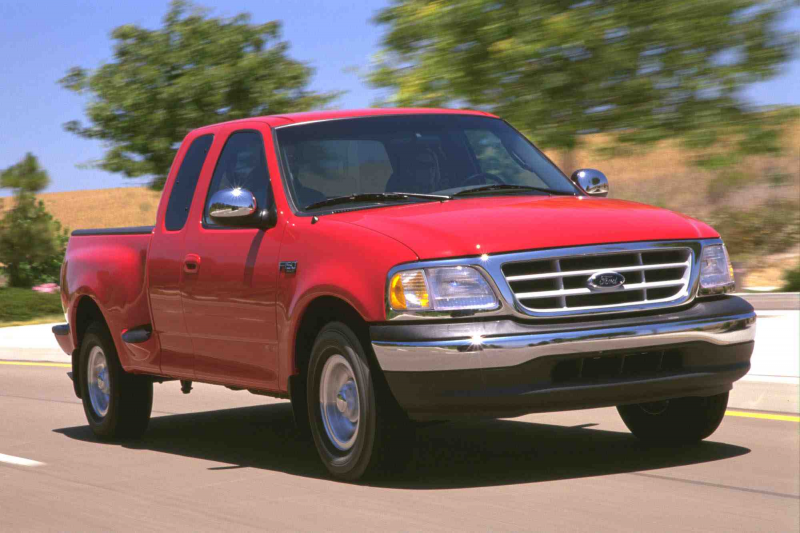 2000 Ford F-150 Supercab Flareside.