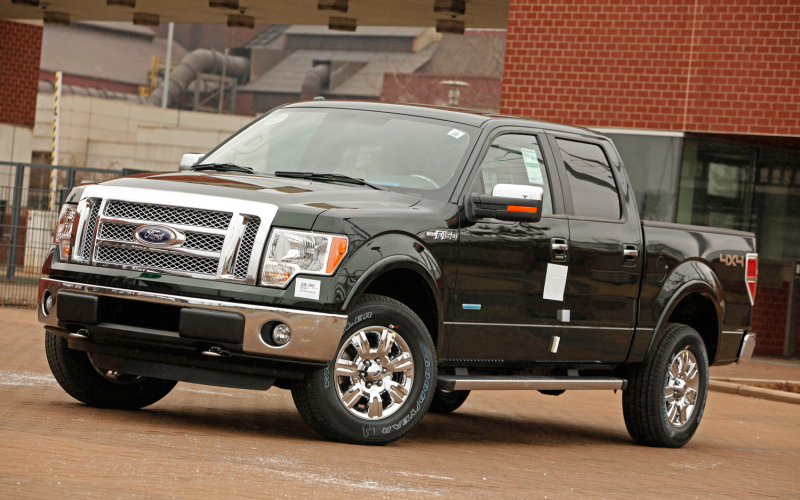 2012 Ford F-150 Lariat 4x4 EcoBoost Build-up and Arrival Photo Gallery
