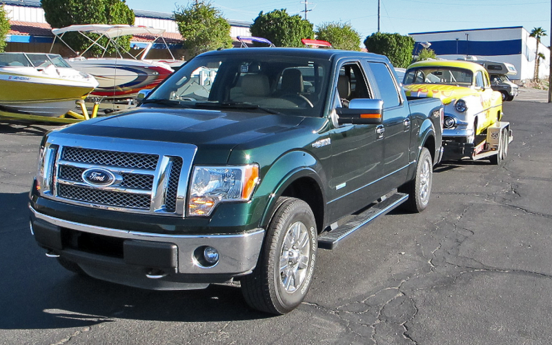 2012 Ford F-150 Lariat 4x4 Long-Term Tow Test Photo Gallery