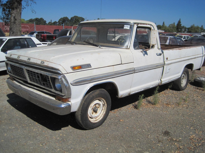 1970 Ford F100 Pickup - Parts Car