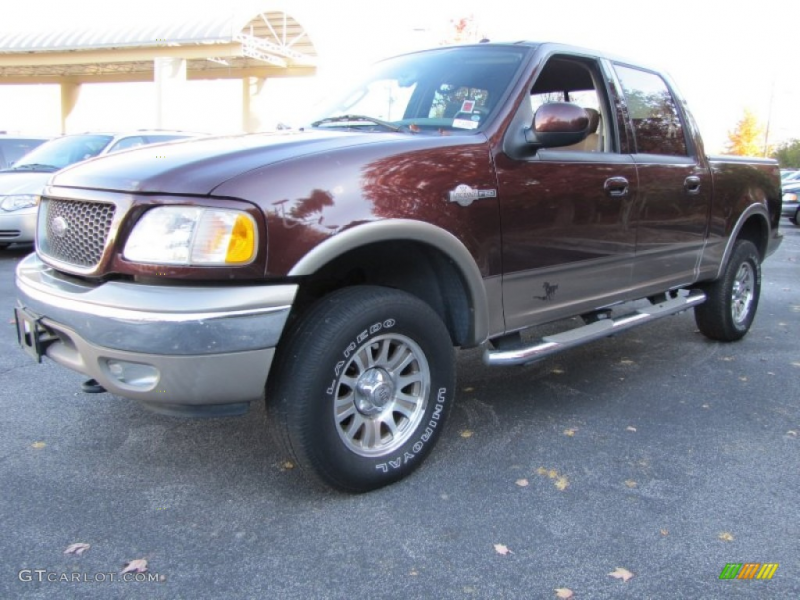 2003 F150 King Ranch SuperCrew 4x4 - Chestnut Metallic / Castano Brown ...